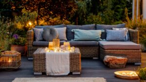 Creating Outdoor Rooms on a Budget